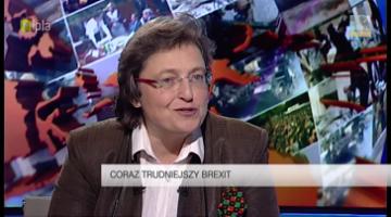 """""""Brexit nie będzie szybkim procesem"""" - dr Małgorzata Bonikowska dla Polsat News 2"""