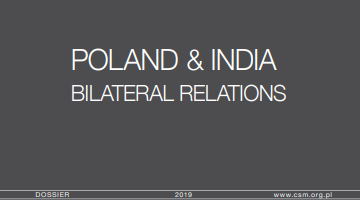 Poland & India. Bilateral relations