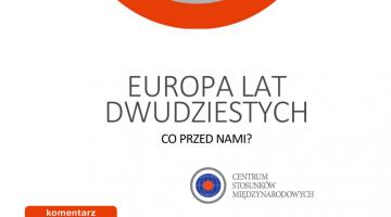 Europa lat dwudziestych: co przed nami?