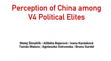 Perception of China among V4 Political Elites