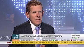 """""""Clinton prowadzi w dziewięciu z jedenastu swing states"""" - dr Bartłomiej Nowak na antenie Polsat News 2 [20.09.2016]"""